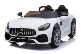 12V Licensed Mercedes AMG GT 2 Seater Ride On Car White
