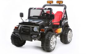 Black 2 Seater 4x4 Truck - 12V Kids' Electric Ride On Car