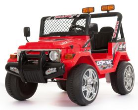 Battery Powered - 12V 2 Seater 4x4 Truck (Red)