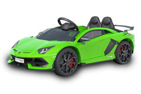 12V Licensed Lamborghini 2 Seater Ride On Car Green