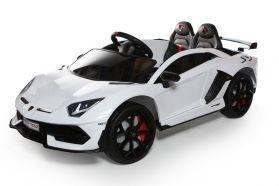 12V Licensed Lamborghini 2 Seater Ride On Car White