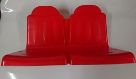 Bare seat - RED