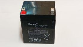 Battery Powered - 12V, 4.5Ah lead acid battery