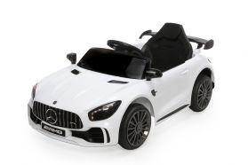 12V Licensed Mercedes GTR Ride On Car White