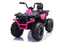 12V Quad Bike with Parental Remote - Pink