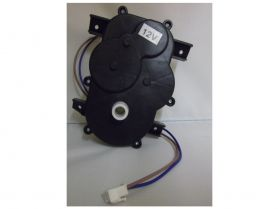 Steering motor and gearbox